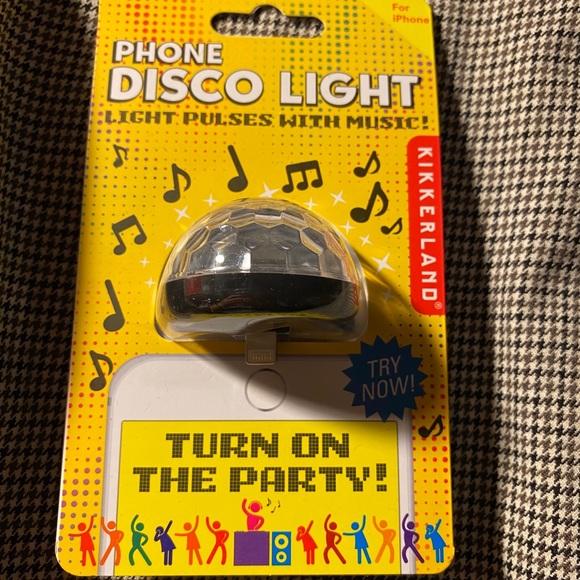 iPhone disco light